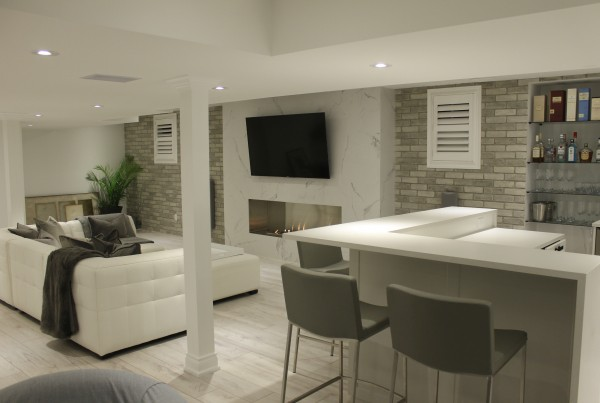 Basement Renovations Ideas Rob's Quality Construction Corporation Inc Delectable Basement Renovations Ideas